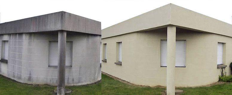 Le nettoyage de façade : indispensable à la pérennisation d'une maison
